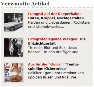 Screenshot: Spiegel Online