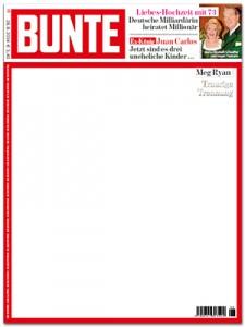 """Eine weiße """"Bunte"""" (Screenshot: Bildblog)"""