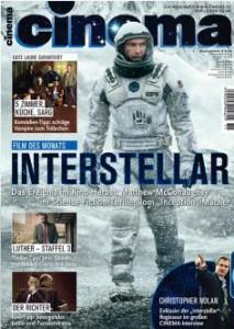 """Aktuelles Titelblatt von """"Cinema"""""""
