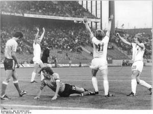 Fußball-WM, Argentinien - DDR 1:1