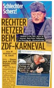 Ausschnitt: Bild-Zeitung