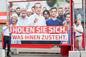 SPÖ-Wahlplakat